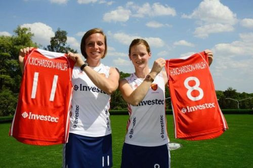 Teammates at home and on the field, Kate and Helen  Richardson-Walsh are hoping to take Great Britain's field hockey team to Olympic victory.
