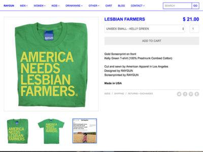 LesbianFarmerTee