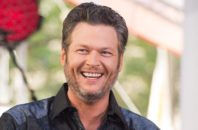 "Blake Shelton thinks Blake Shelton's ""jokes"" are pretty funny."