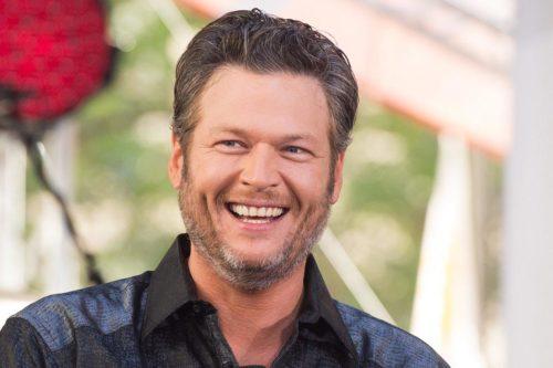 "Blake Shelton thinks Blake Shelton's ""jokes"" are pretty funny."