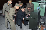 North Korean leader Kim Jong Un discovers the computer in 2014. The dictator reportedly spent hours playing Centipede and giggling madly.
