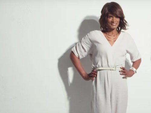 "Transgender model Tracey ""Africa"" Norman makes a triumphant return to Clairol."