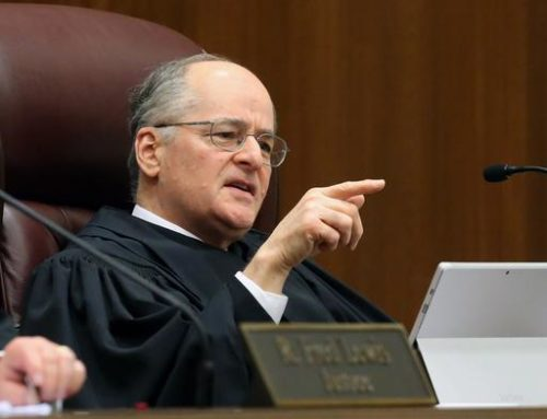 FILE - In this Nov. 10, 2015 file photo, Florida Supreme Court justice Charles Canady speaksin Tallahassee, Fla. Donald Trump has added 10 new names to the list of judges he says he'll choose from to fill Supreme Court vacancies if he's elected to the White House.