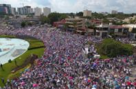 Thousands rally in opposition to marriage equality in Guadalajara, Mexico