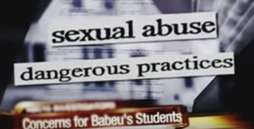Screenshot from an attack ad against gay Republican congressional candidate Paul Babeu