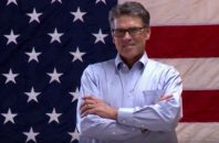 Rick Perry poses for Dancing With The Stars