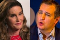 Caitlyn Jenner and Ted Cruz