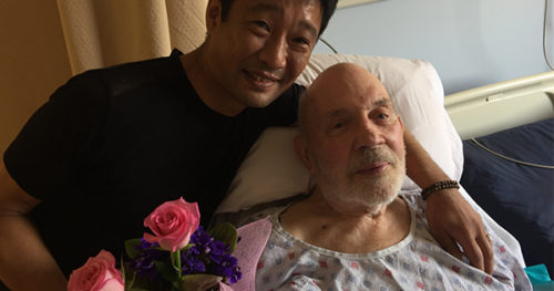 Takashi Nakaya and Dale Green were married at the Veterans Administration Hospital in West Los Angeles.