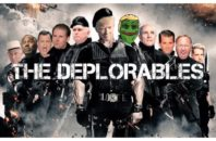 Former Trump advisor Roger Stone created this meme using Trump and his supporters (including the lizard who has become the symbol of the alt-right movement online)