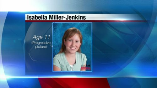Isabella Miller-Jenkins as she would appear today.