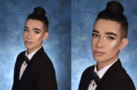 High school senior James Charles' yearbook photo.