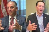 Louisiana Governor John Bel Edwards and Attorney General Jeff Landry