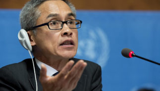 Vitit Muntarbhorn of Thailand has been appointed the first United Nations expert on anti-LGBT violence and discrimination.