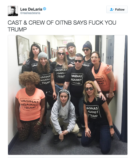 OITNB anti-trump shirt