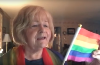 Sherri Gray writes and sings pro-LGBTQ songs on YouTube.