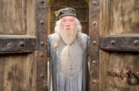 "MICHAEL GAMBON as Albus Dumbledore in ""Harry Potter and the Order of the Phoenix."""""