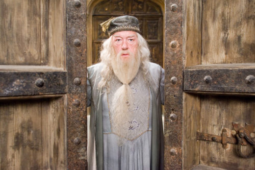 """MICHAEL GAMBON as Albus Dumbledore in """"Harry Potter and the Order of the Phoenix."""""""""""