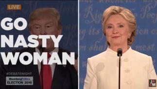 nasty woman vs bad hombre