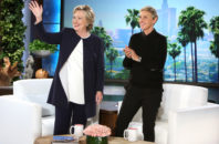 Hillary Clinton talks to Ellen DeGeneres in her first interview following the second presidential debate with Donald Trump.