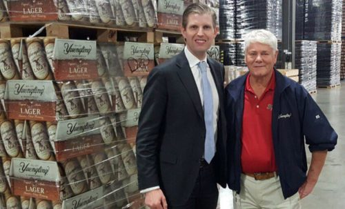 Yuengling goes for Trump