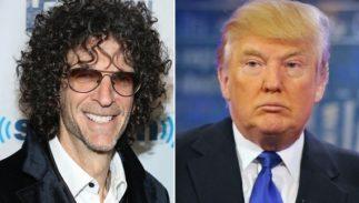 Howard Stern and Donald J. Trump