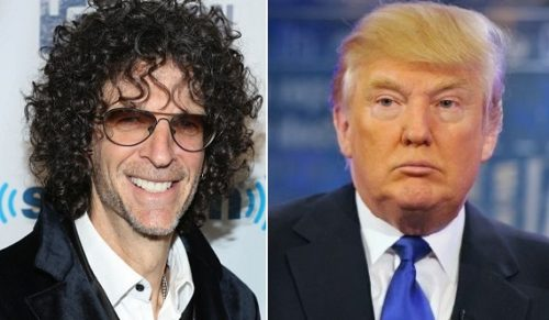 Howard Stern and Donald J. Trump