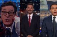 third debate late night shows