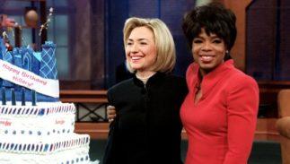 Oprah Winfrey Hillary Clinton