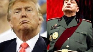 Donald Trump and Benito Mussolini: Il Duce and The Douche