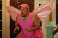 Larry the Cable guy as the tooth fairy.
