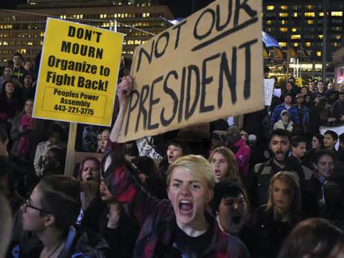 Anti-Trump protests continue in major USA cities