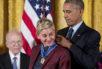 Barack Obama,Ellen DeGeneres