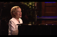 "Kate McKinnon performed Leonard Cohen's ""Hallelujah"" for SNL's post-election cold open."