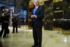 In this photo taken Nov. 17, 2016, Sen. Jeff Sessions, R-Ala. speaks to media at Trump Tower in New York. President-elect Donald Trump has picked Sessions for the job of attorney general.