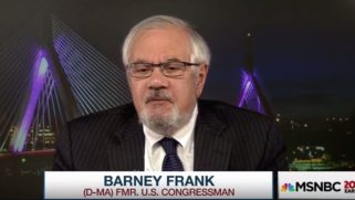 Barney Frank thinks he's got a winning slogan for the 2020 Senate campaigns