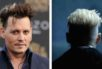 Fans are matching Depp's haircut with that of the character, shown behind in a trailer.