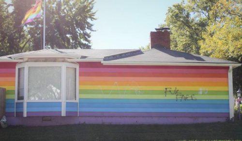 equality house vandalism