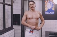 james franco hillary clinton