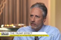 jon stewart trump election