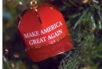 """Make America Great Again"" ornament"