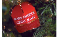 """Make America Great Again"" ornament"