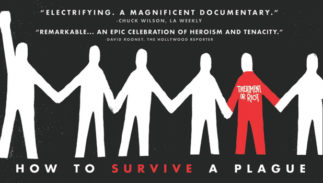 """How to Survive a Plague"" movie poster."