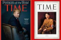 Donald Trump and Adolf Hitler have both now been named Time's Person of the Year.