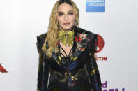 Madonna attends the 11th annual Billboard Women in Music honors at Pier 36 on Friday, Dec. 9, 2016, in New York. Billboard Women in Music 2016 will air Dec. 12 on Lifetime.