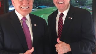 Donald Trump and Dan Patrick