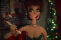 Ivy Winters looks like she has plans for that candy cane.