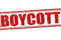 Boycott stamp