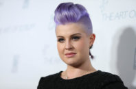 """Kelly Osbourne arrives at The Art of Elysium Heaven Gala at Hangar 8 in Santa Monica, Calif. Osbourne apologized Tuesday, Aug. 4, 2015, for comments she made earlier in the day on """"The View"""" about Latinos  cleaning Donald Trump's toilets."""