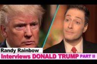 Randy Rainbow Donald Trump