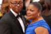 Mo'Nique and husband Sidney Hicks attending the 82nd Academy Awards.
